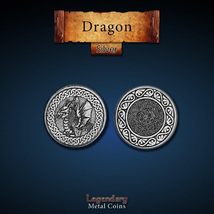 Dragon Silver Coins