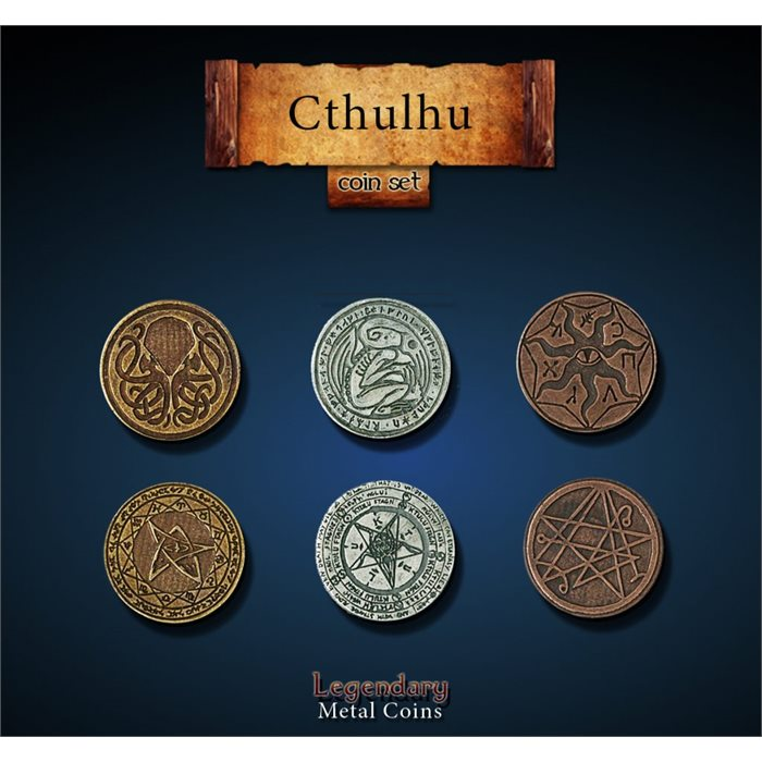 Cthulhu Coin Set