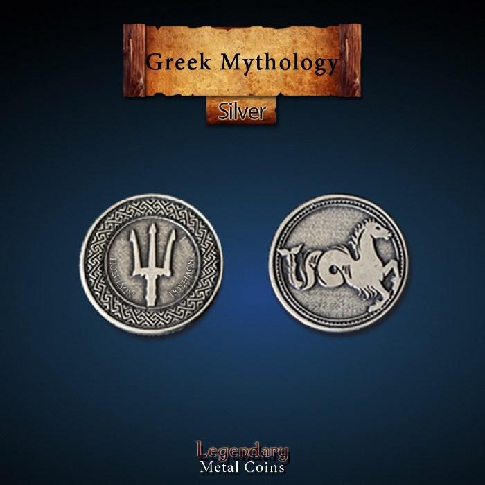 Greek Mythology Silver Coins