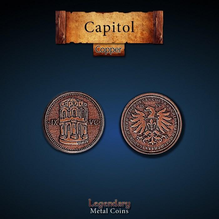 Capitol Copper Coins