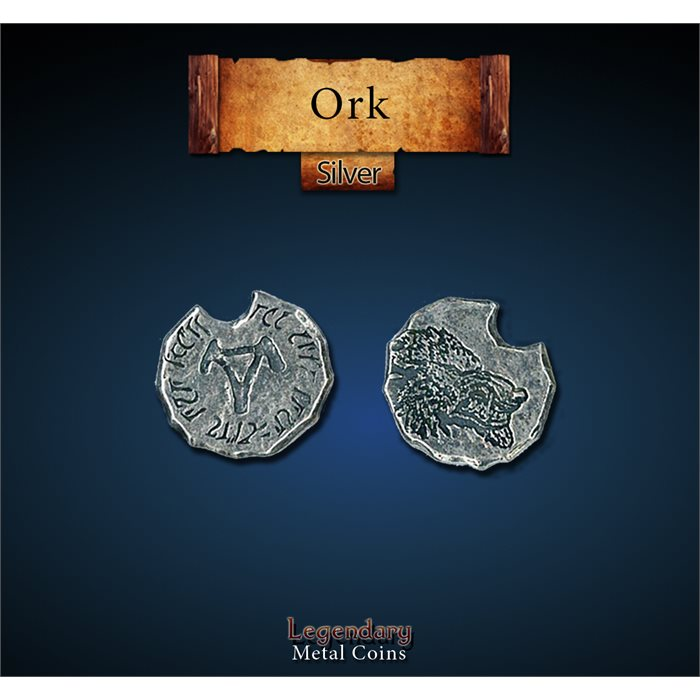 Orc Silver Coins