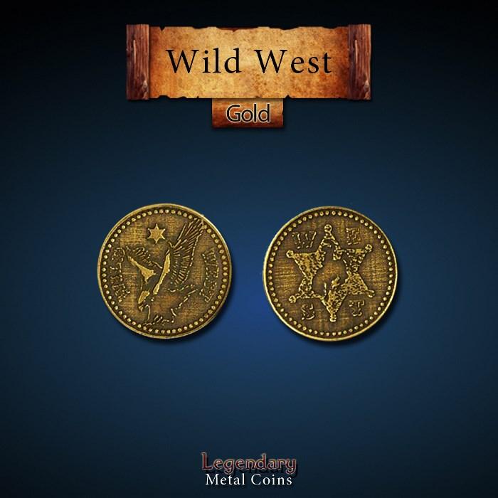 Wild West Gold Coins