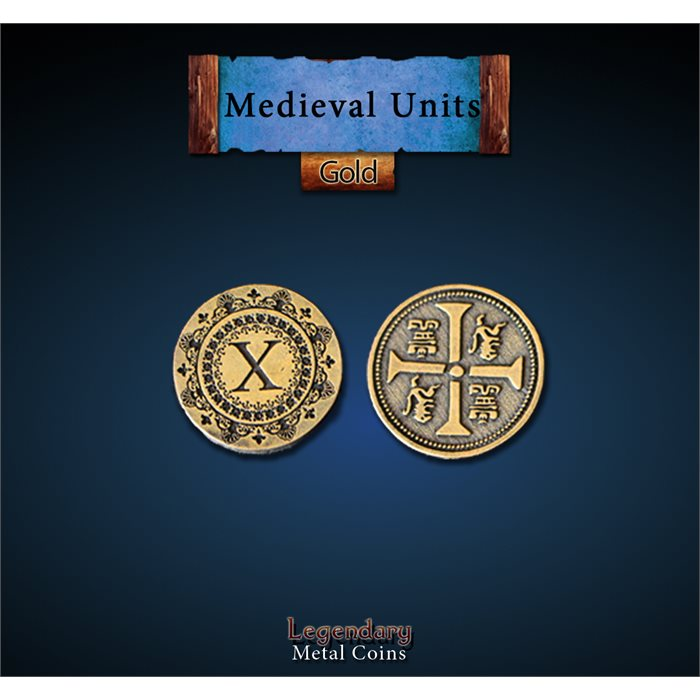 Medieval Units Gold Coins