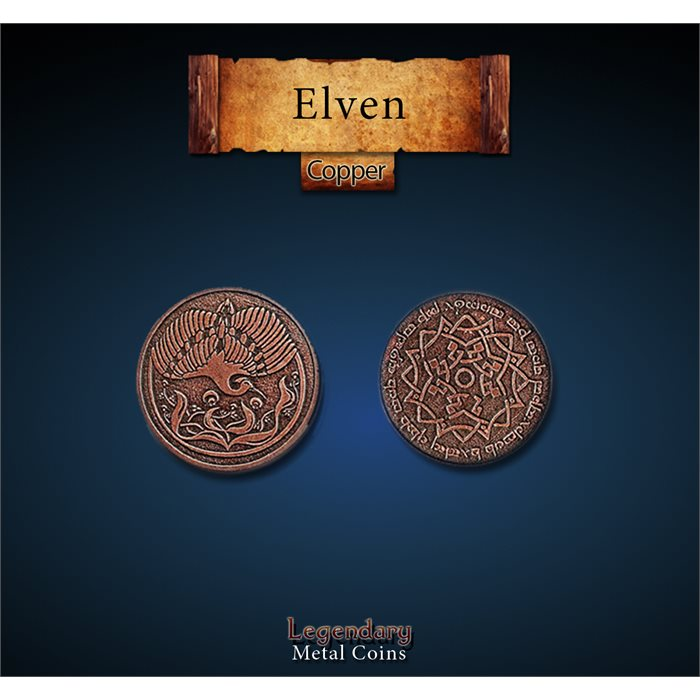 Elven Copper Coins