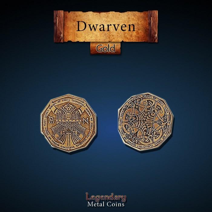 Dwarven Gold Coins