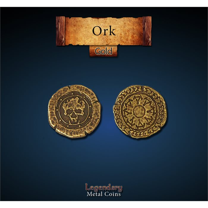 Orc Gold Coins