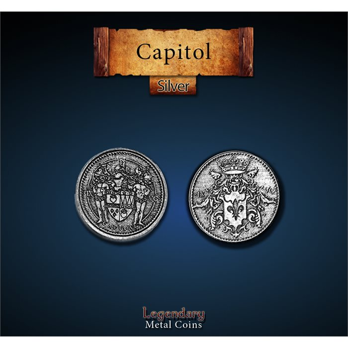 Capitol Silver Coins