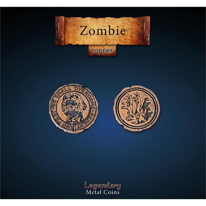 Zombie Copper Coins