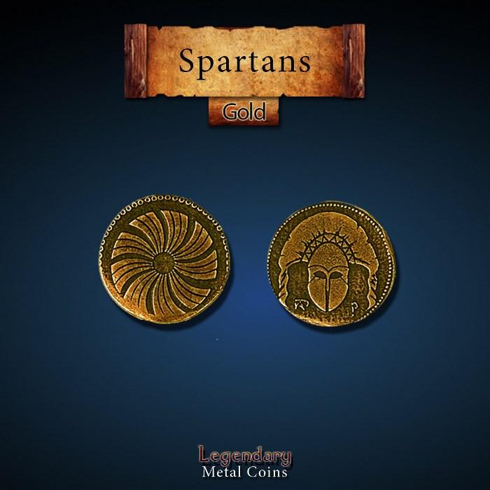 Spartan Gold Coins