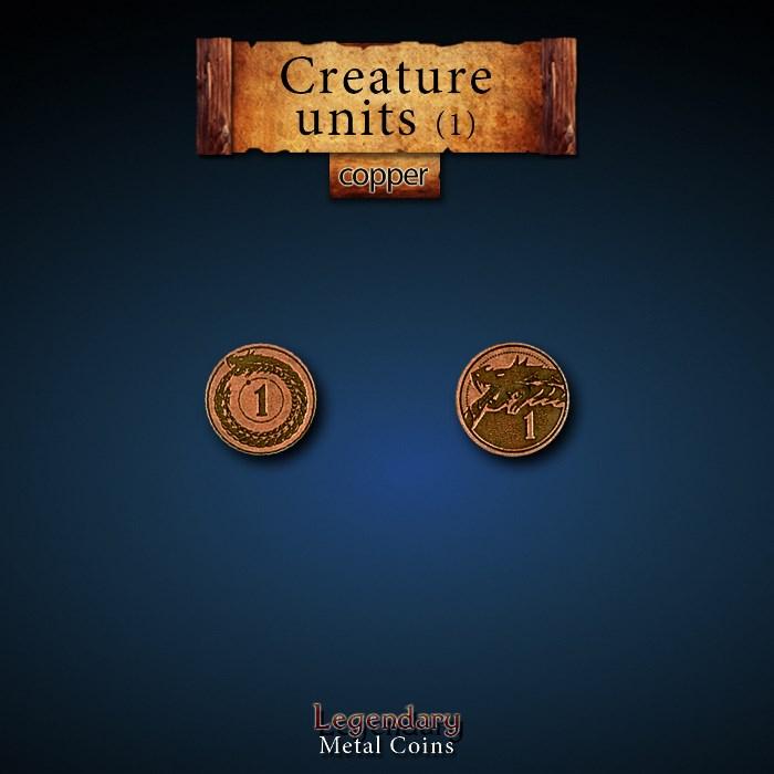 Creature Unit Copper 1 Coins
