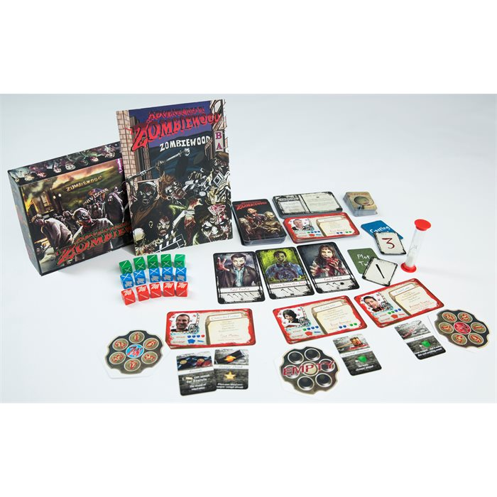 Adventures in Zombiewood Tabletop Game - MRSP $40