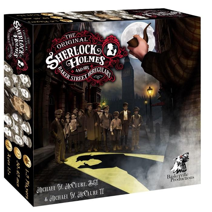 One copy of The Original Sherlock Holmes and his Baker Street Irregulars Tabletop Game - MSRP $55