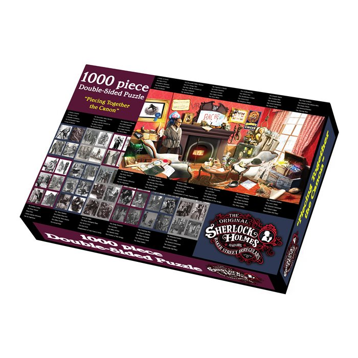 """Piecing Together the Canon - 1000 pcs Double-sided Puzzle (20""""x29"""") - MSRP $15"""