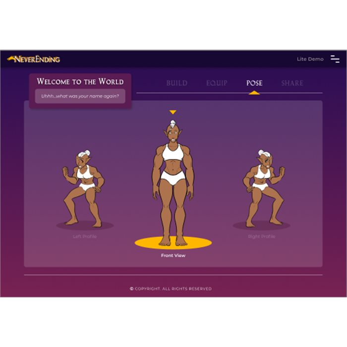 Character Builder (Standard) - Hireling Pledge