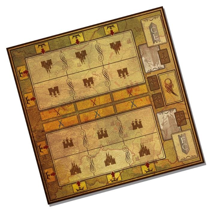 Fortresses & Clans - Expansion - Textil Playmat