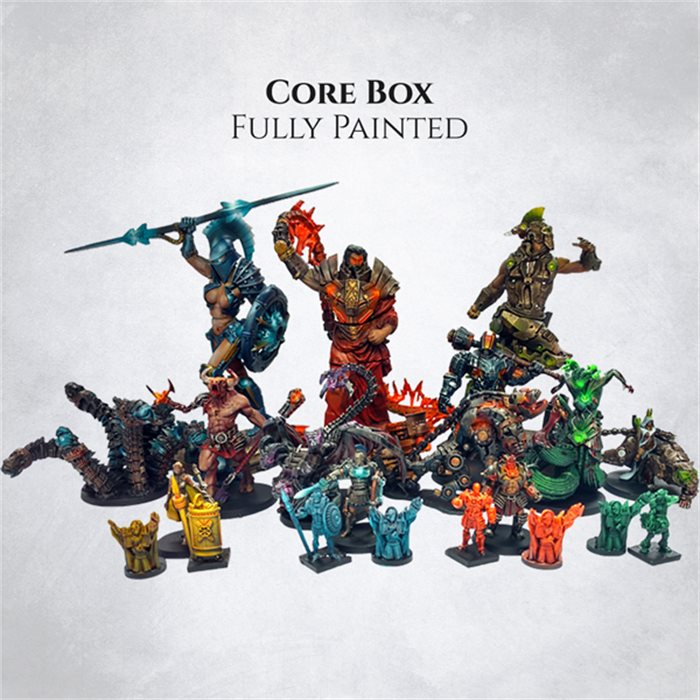 Core Box - painted