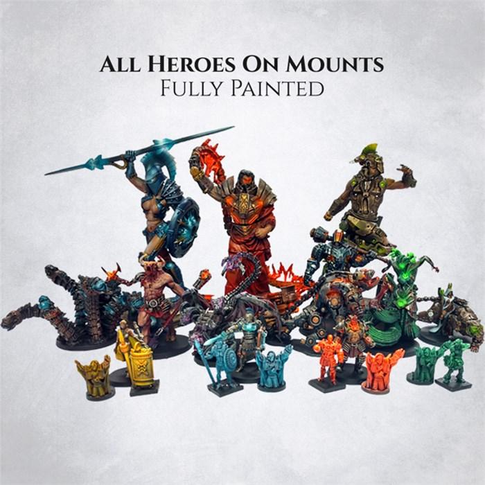 Heroes on mounts - painted