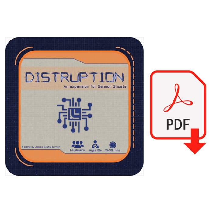 Sensor Ghosts: Disruptions Mini Expansion PnP (Digital Download) [KS]