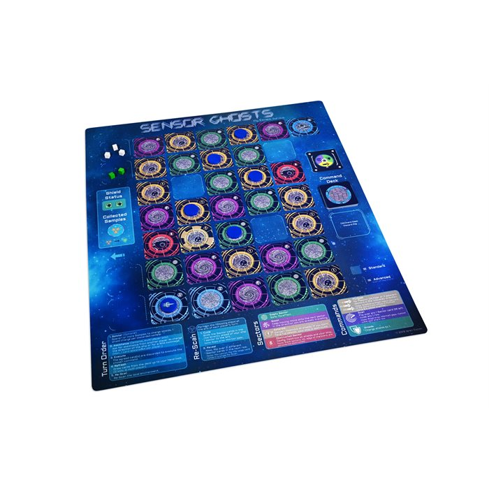 Sensor Ghosts: Playmat