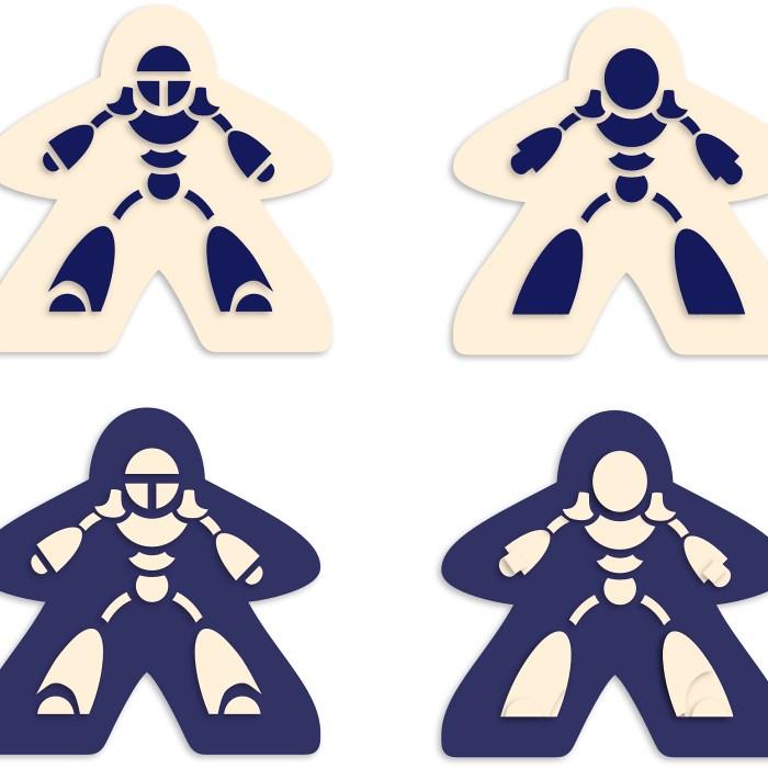 Robomeeples Extra Set (x4) [KS}