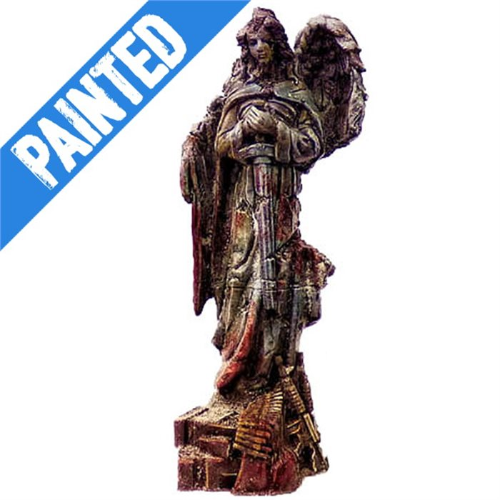 angel statue - resin, painted