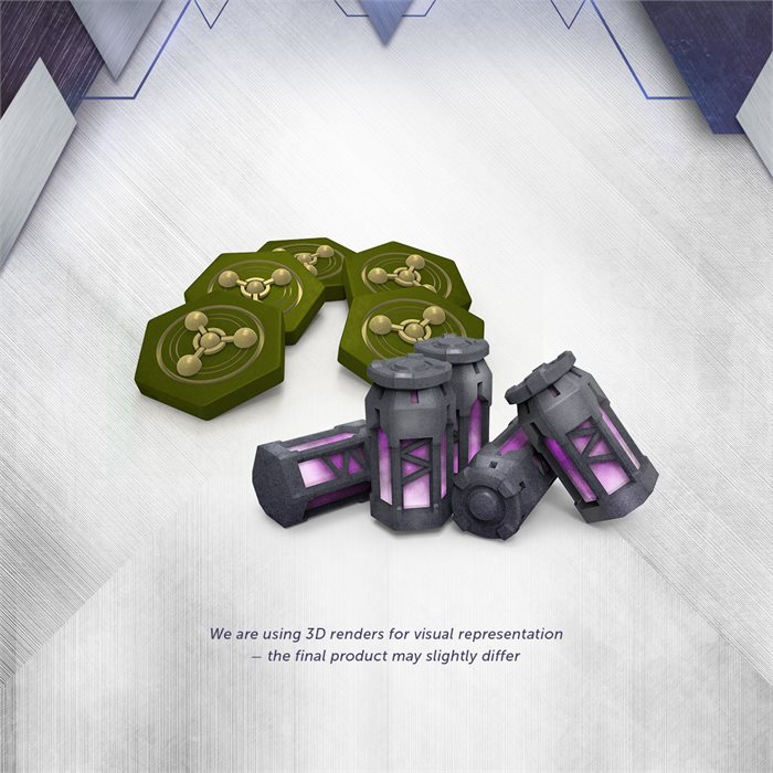 Resin Energy Source Pack (Late Pledge)