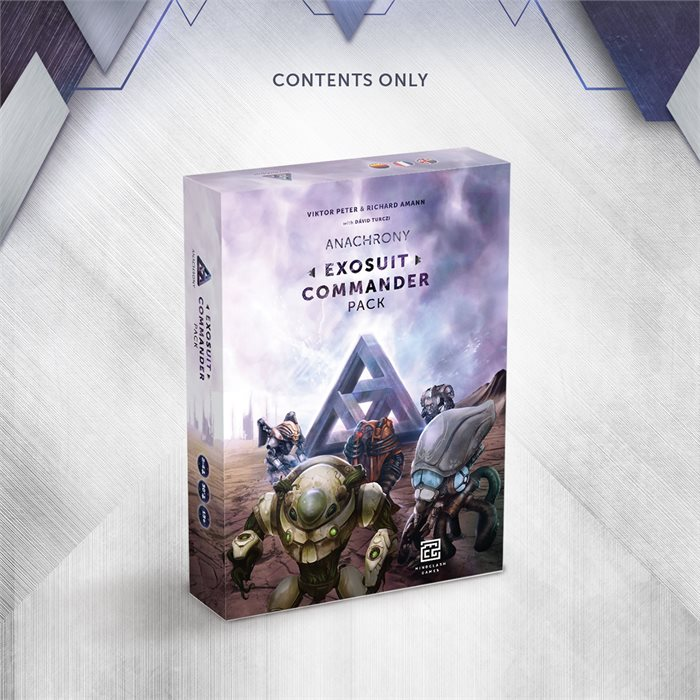 Exosuit Commander Pack - Contents Only! (Late Pledge)