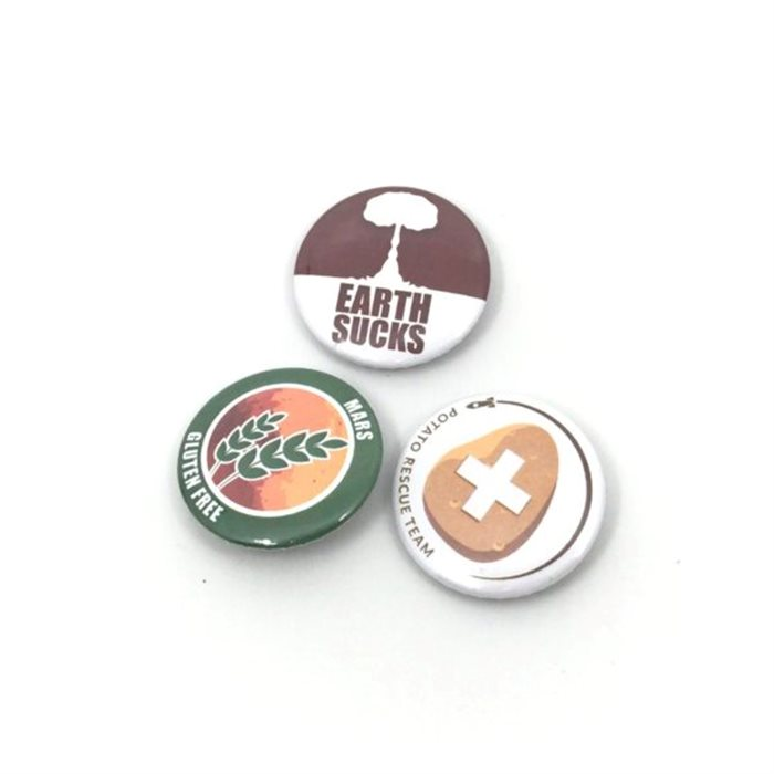 BADGES: POCKET MARS