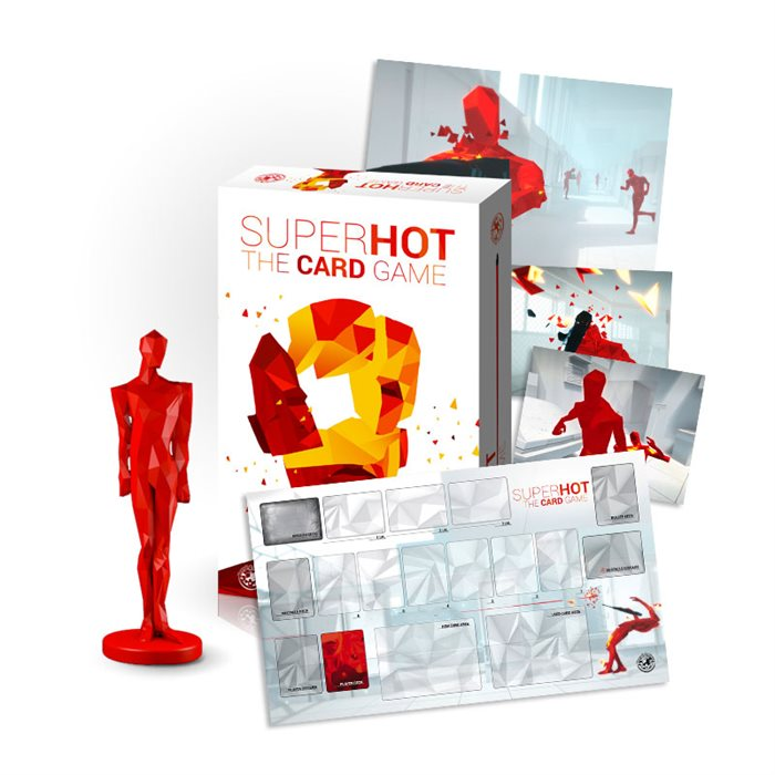 Shotgun (SUPERHOT The Card Game + Minifigure + Game Mat)