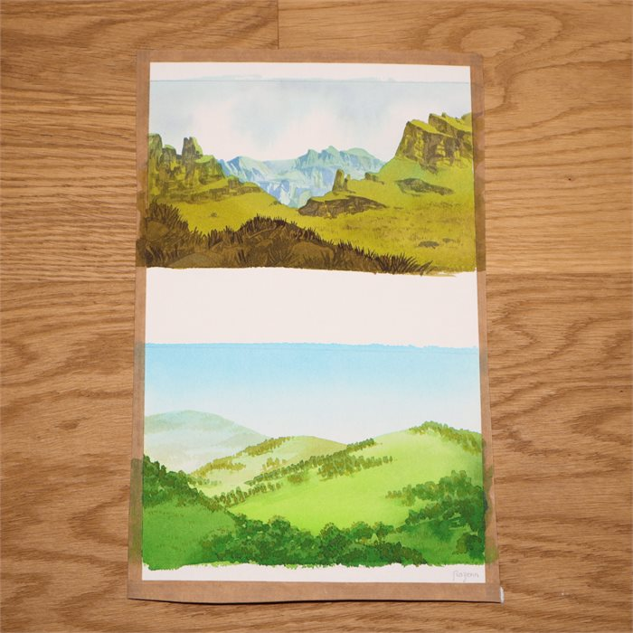 Hilly regions