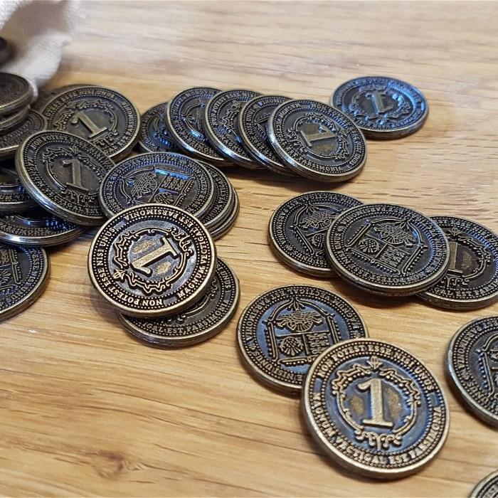 40x Glen More II: Chronicles Metal Coins (EU ONLY!!!)