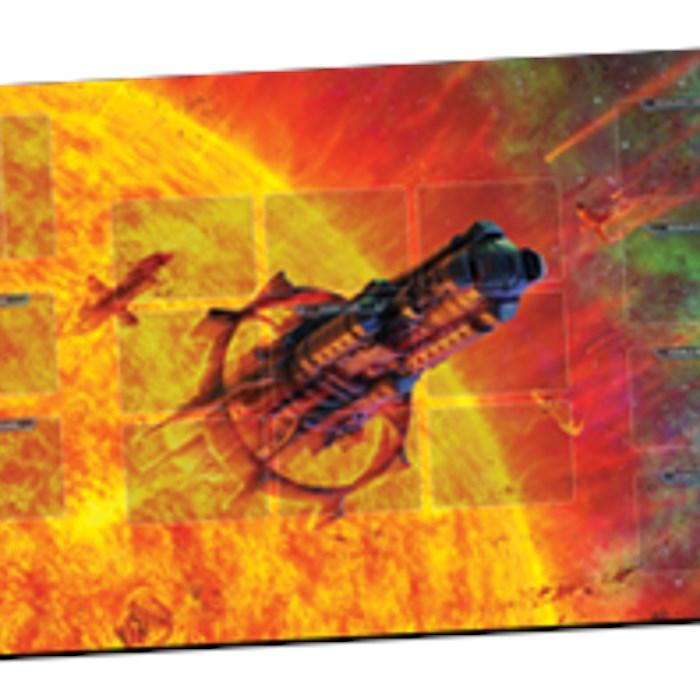 Solar Storm Playmat