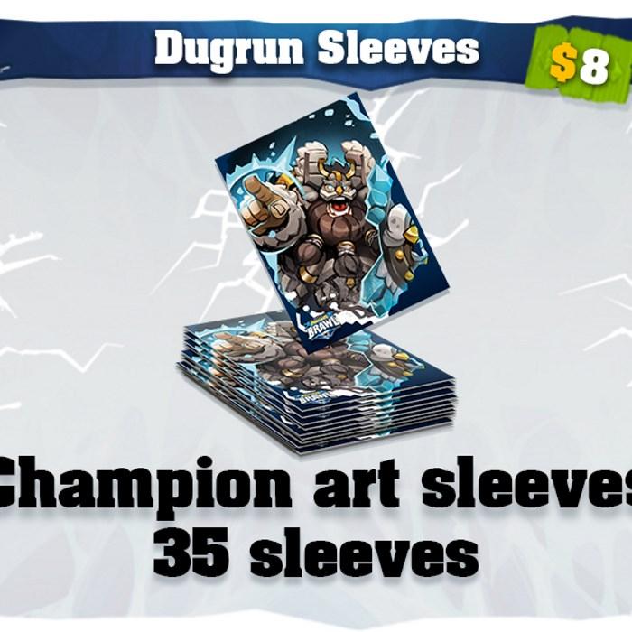 Dugrun art card sleeves