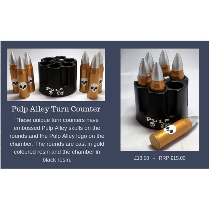 Pulp Alley Turn Counter