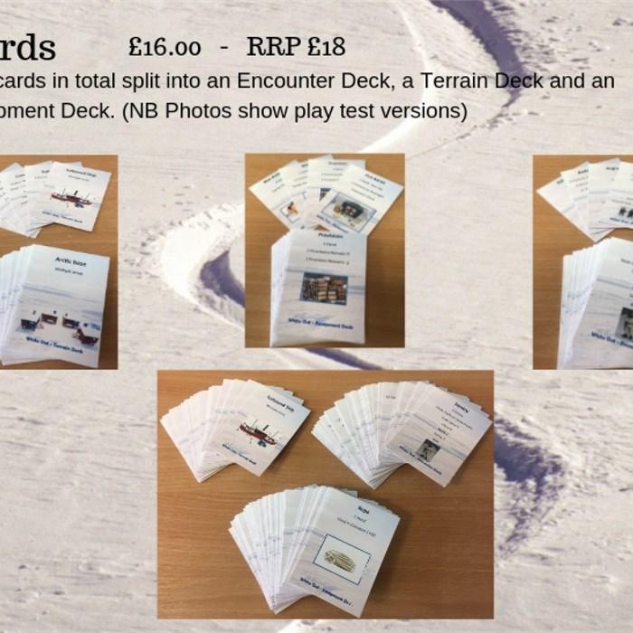 White Out Card Decks