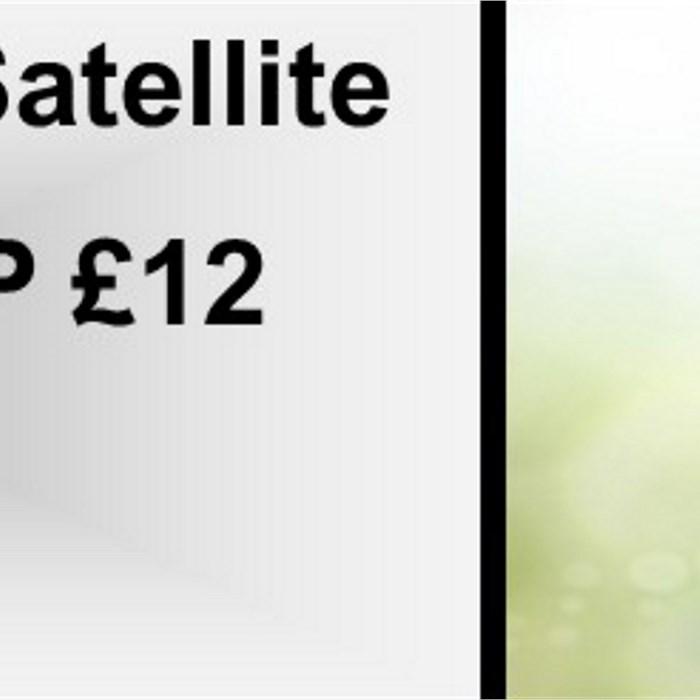 Crashed Satellite