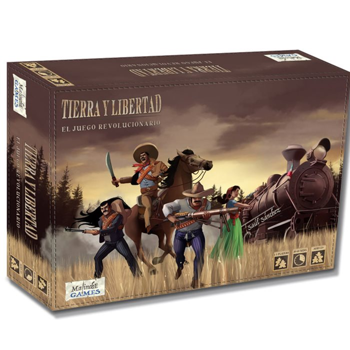 Tierra y Libertad the Revolution Game. Second Edition