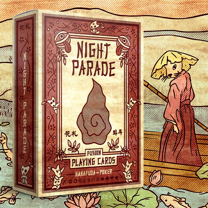 Night Parade Fusion Playing Cards