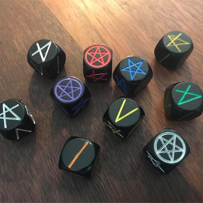 Progressive Pentacle Dice