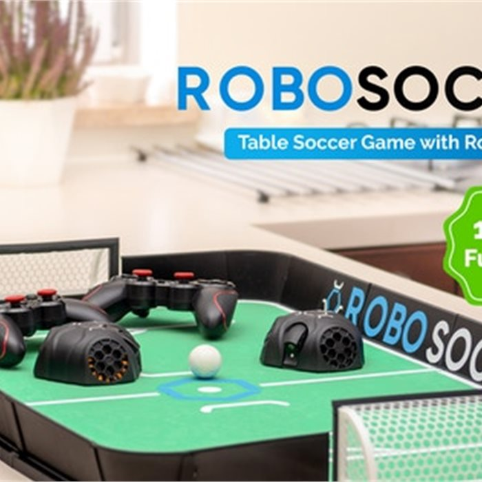 RoboSoccer: Table Soccer Game with Robot Players