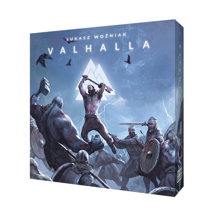 VALHALLA: Card-dice game for 1-6 players