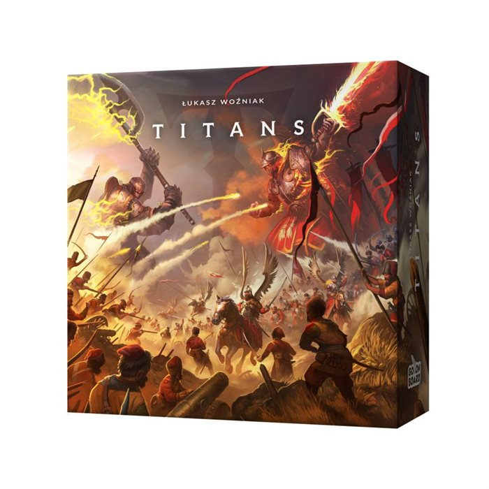 TITANS Board Game