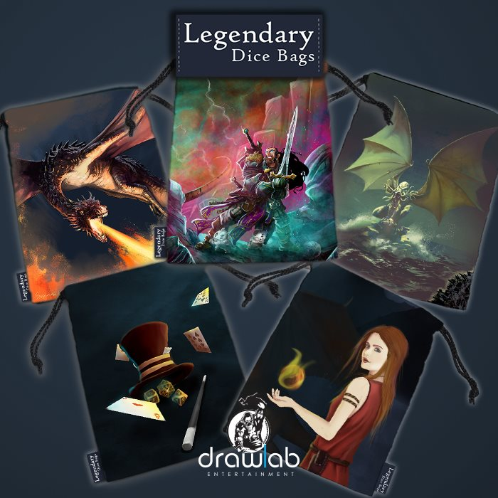 Legendary Dice Bags