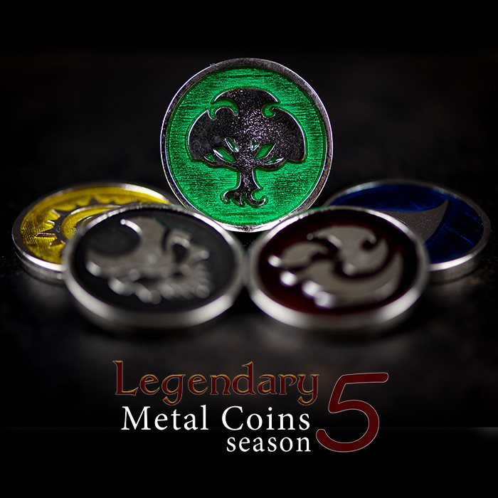 Legendary Metal Coins Season 5