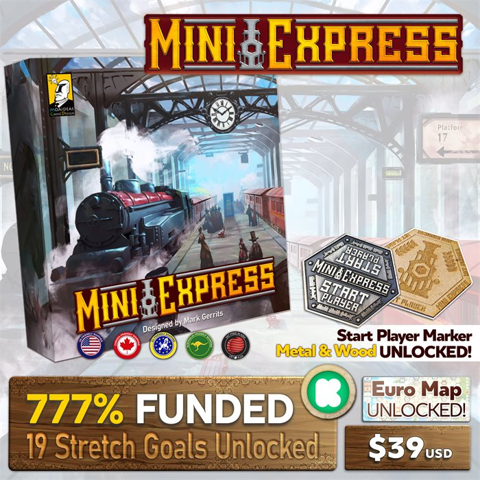 Mini Express - Post KS Pledge Manager