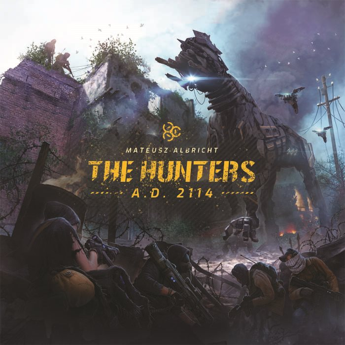 The Hunters A. D. 2114 (2nd printing)