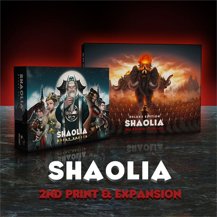 Shaolia 2nd print & Expansion