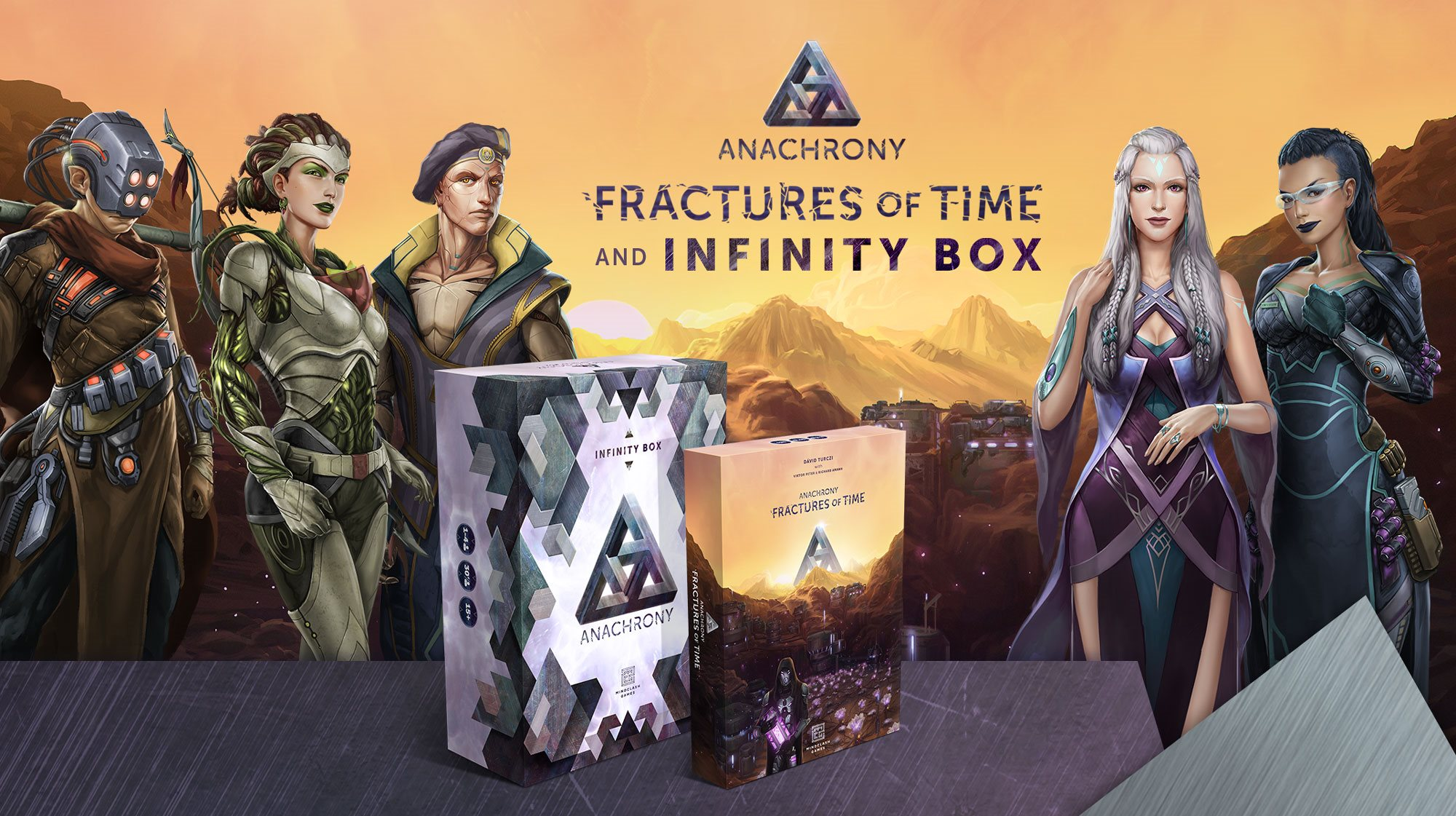 Anachrony: Fractures of Time Expansion and Infinity Box by Mindclash